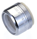 Use a faucet aerator to help you conserve water.