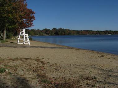 Lake Massapoag beach