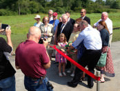 Canton Airport Ribbon Cutting