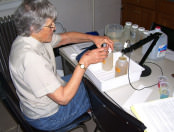 Water sample testing - Marge Huse