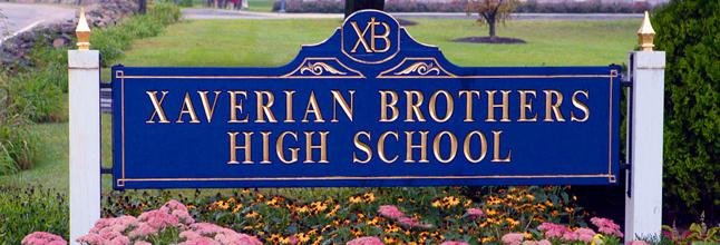 xaverian brothers high school sign