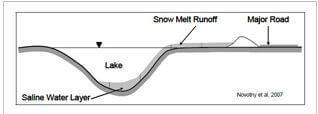 snow melt salinity