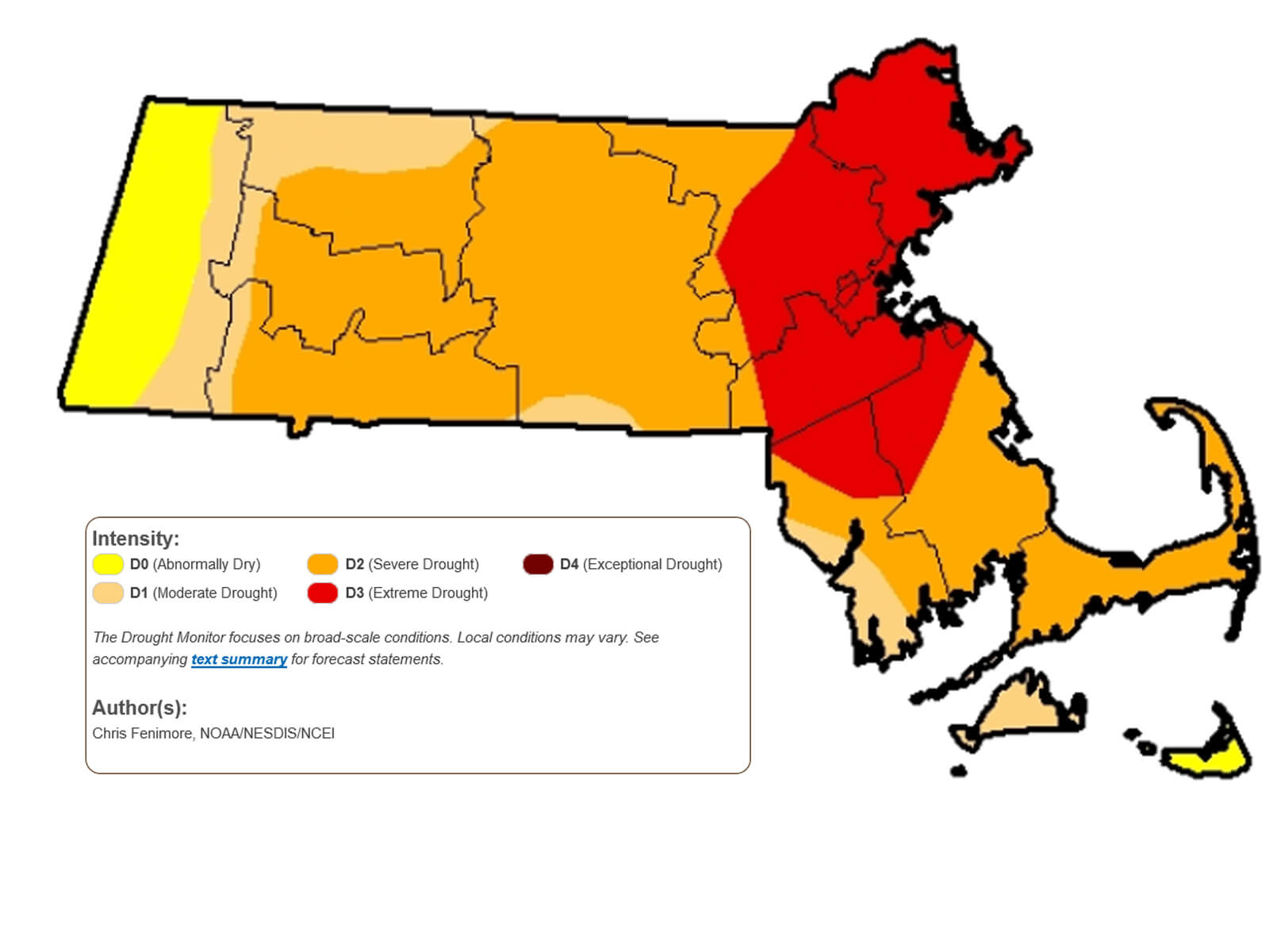 Drought continues, conservation essential - Neponset River Watershed