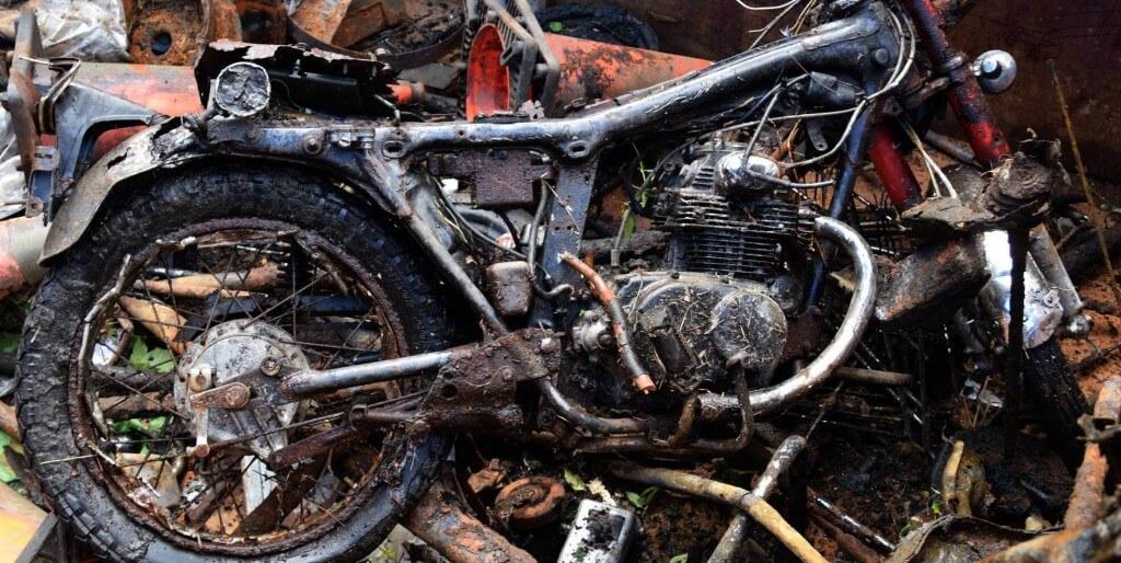 motorcycle-trash-pile